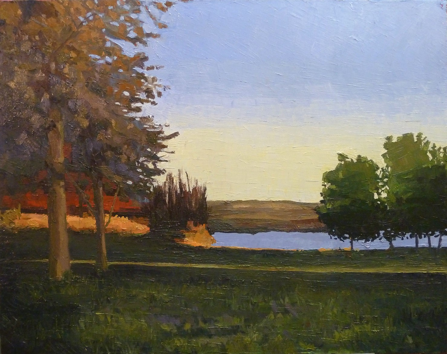 Lake Anita at Sunset